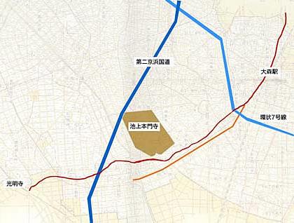 大田区 昭和14年の地図に見る池...